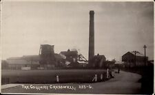 Cresswell/Creswell near Clowne & Worksop. The Colliery # 253-6 by Rotophoto.