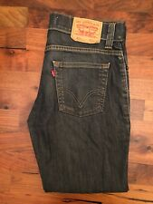 Original Levi's 511 TM Slim Fit Tapered Blue Stretch Denim Jeans W34 L28 ES 9124