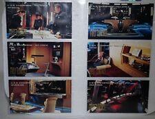 Star Trek First Contact Trading Cards New USS Enterprise E Set E1-E6