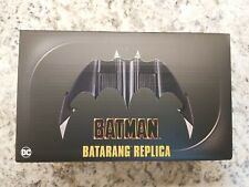 "NEW Batman Batarang Neca Replica Movie Prop SEALED 7"" Inches Wide With Stand"
