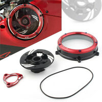 Clear Clutch Cover Protector Guard for Ducati Panigale 1199 1299 959 R S 2012-20
