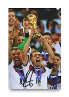 Philipp Lahm Signed 6x4 Photo Bayern Munich Germany Autograph Memorabilia + COA