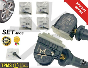 4 PCS GM Genuine Equipment CDELCO TPMS tire pressure monitoring system 13598771