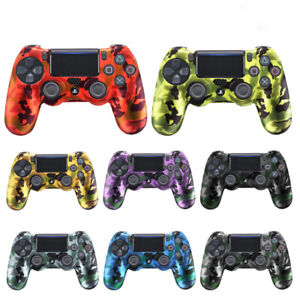PS4 Controller Soft Silicone Rubber Skin Cover For Sony Playstation 4 Free Gift