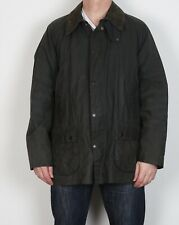"BARBOUR Bedale Wax Jacket Coat 46"" XL XXL Navy Blue Vintage (5BP)"