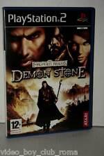 FORGOTTEN REALMS DEMON STONE GIOCO USATO OTTIMO SONY PS2 EDIZIONE UK MC3 36498