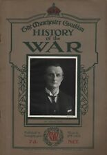 """THE MANCHESTER GUARDIAN -  """"HISTORY OF THE WAR"""" - Parts XIII-XXVIII  (1915)"""
