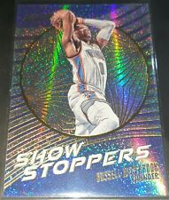 Russell Westbrook 2016-17 Panini Revolution SHOWSTOPPERS Insert Card SP (no.12)