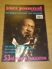 JAZZ JOURNAL INTERNATIONAL VOL 53 #11 2000 NOVEMBER HAL SINGER TUT SOPER