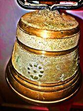 Swiss Brass Cow Bell w/Strap