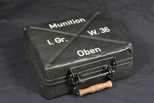 STENCIL TYPE 2 WWII GERMAN 5cm 50mm MORTAR AMMO BOX CASE CONTAINER l.Gr.W.36