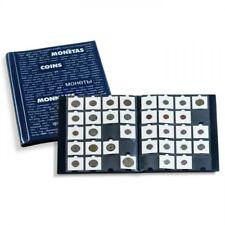 Álbum con 10 fundas para 20 cartones de monedas por funda