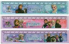 Disney Frozen Elsa/Olaf 15CM Stationery Ruler Party Bag Favours Gift (6 pack)