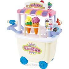 Dough Ice Cream Cart Playsets With Accessories NEW