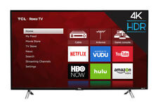 "TCL 43S405 43"" 4K LED Roku Smart TV - Black"