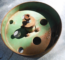 "JOHN DEERE Steel or Iron Vintage Wheel - 12"" Diameter (Part no. E938-A)"