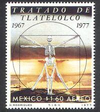 MEXICO 1977 TRATTATO DI Tlatelolco/Scheletro/armi nucleari/BOMBA ATOMICA 1 V (n39831)