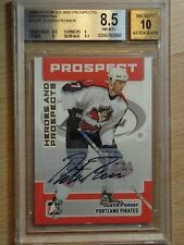 2006-07 BAP-ITG HEROES & PROSPECTS - DUSTIN PENNER GRADED AN 8.5 WITH 10 AUTO
