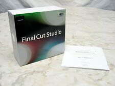 FINAL CUT PRO 7 STUDIO 3 HD - FULL RETAIL EXCELLENT!