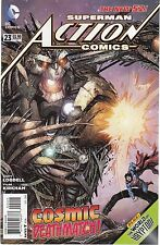 ACTION COMICS #23 -TYLER KIRKMAN ART & COVER - DC's THE NEW 52