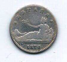Gobierno Provisional  50 Céntimos de peseta  1870   NL184