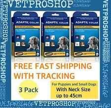 Adaptil DAP Collar 3 PACK for Puppy and Small Dog 45cm - FREE FAST POSTAGE