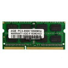 NEW 4GB PC3-8500 DDR3-1066Mhz 204pin CL7 PC8500 Laptop Memory ram Unbuffered