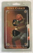 Kurt Cobain Collectors Guitar Picks in Protective Casing NIRVANA