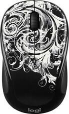 NEW Logitech Wireless Mouse M325C Collection - Dark Fleur Black/White 910-005339