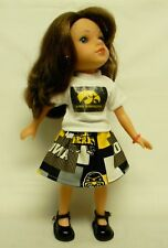 "Iowa Hawkeyes ""Herky"" Outfit (1) For 14.5 Inch Doll"