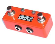 MC-FX Compact Dual Footswitch - For ORANGE Amps Orange
