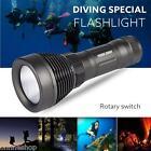Underwater 500M 5000LM XM-L T6 LED Diving Flashlight Waterproof Torch Light Lamp