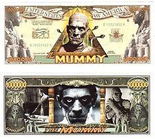 The Mummy Dollar Bills-NOVELTY Collectors-CLASSIC HORROR MOVIE Money