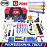 Paintless Dent Removal PDR Tool LED Puller Lifter Hammer Glue Hail Repair Kit AU