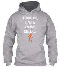 Zombie Killer Gildan Hoodie Sweatshirt