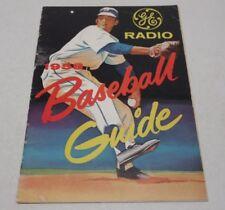 GE Radio 1958 Baseball Guide Magazine Publication