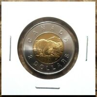 Canada 2009 Toonie UNC BU From Mint Roll!!