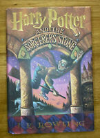 Harry Potter and the Sorcerer's Stone Oct 1998 1st American Edition U.S Print HC