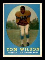 1958 Topps Set Break # 67 Tom Wilson EX-MINT *OBGcards*