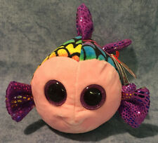 Flippy Color Fish Beanie Boo Small 6 Inch - Stuffed Animal by Ty (37242)