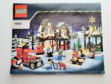 LEGO 10222 Winter VillagePost Office Instructions ONLY Christmas Holiday