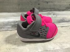 NIKE Toddler's Stelos (TDV) Shoes 844977 600 SIZE 3C Pink