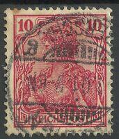 REICHPOST  1900  - Germania  //  RARE....!  gestempelt .