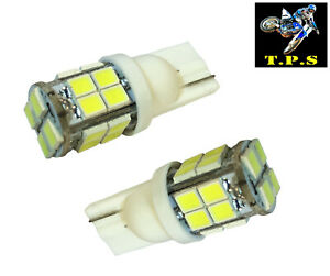 2X WHITE T10 20 SMD LED INTERIOR SIDE LIGHT WEDGE BULBS FORD FIESTA FOCUS MONDEO