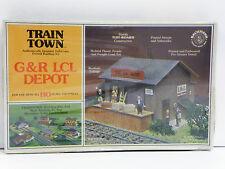"""BACHMANN TRAIN TOWN HO U/A """"G&R LCL DEPOT"""" PLASTIC MODEL KIT #47-1502"""