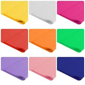 Tissue Paper 500 x 750mm (20 x 30 in) Pack of 10 Sheets – Choose Colour