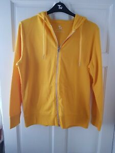 TU Yellow Basic Hoody Size 16. BNWT