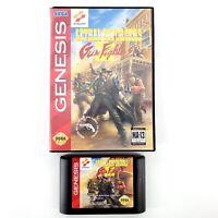 Lethal Enforcers II: Gun Fighters (Sega Genesis 1994) Authentic No Manual Tested