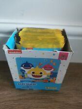 More details for panini baby shark 2021 stickers - full box of 50 sticker packs