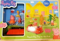PEPPA PIG PEPPA'S DAY TRIP TO THE PARK BNIB SHIPS FAST